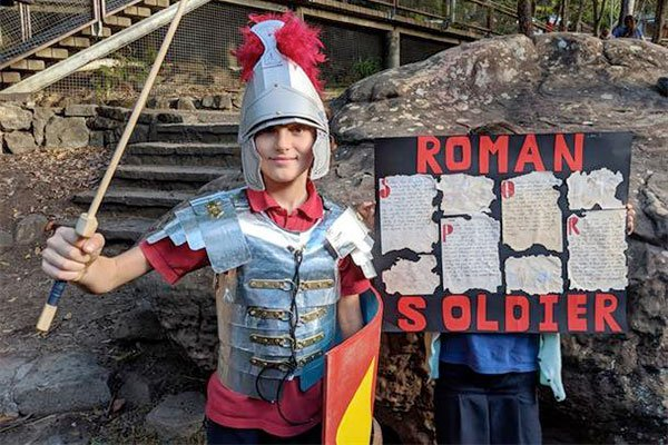 Roman Soldiers - Class 6 Rome project